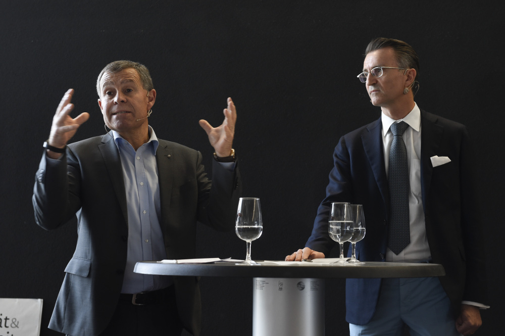 Podium Wirtschaftsmotor Kanton Zürich