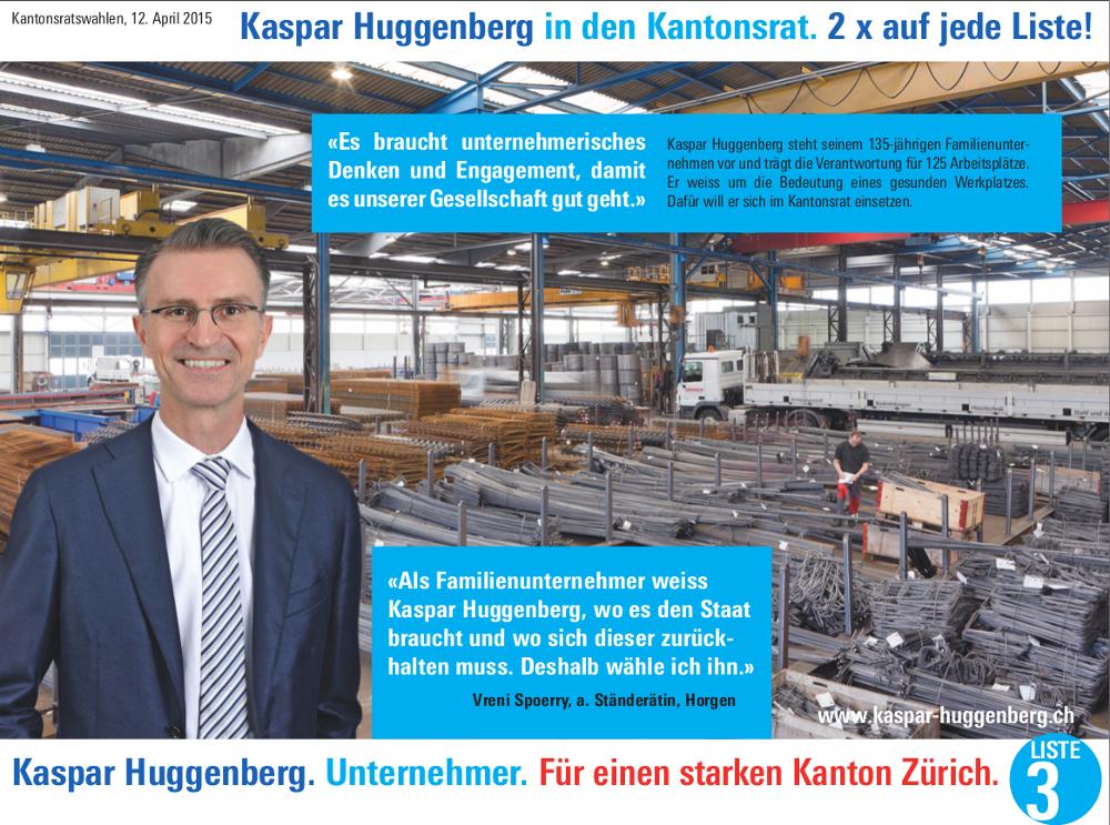 Kaspar Huggenberg Unternehmer