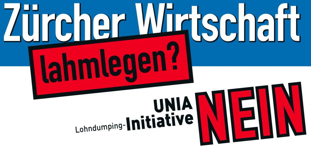 Lohndumping-Initiative NEIN